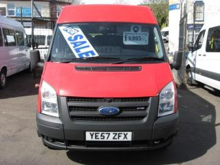 Ford Transit Red Ford Transit 100-RWD 17 seat Bradford Council